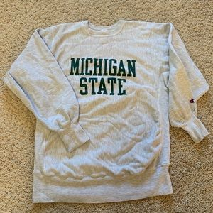 Champion crewneck Michigan state reverse weave